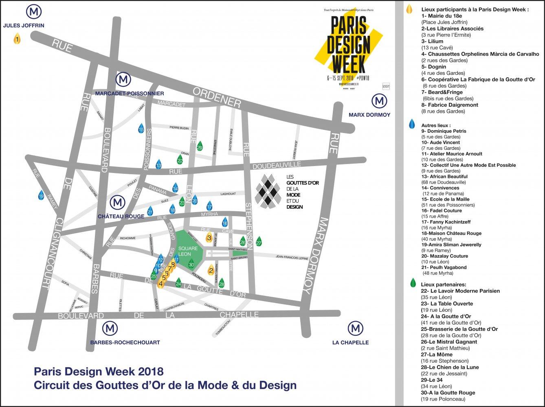 Paris Design Week 2018 à la Goutte d'Or